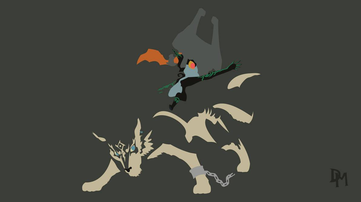 The Legend of Zelda: TP - Wolf Link and Midna by ...