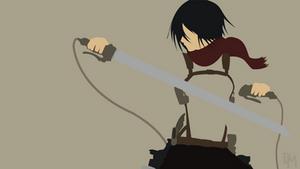 Shingeki No Kyojin (AoT) - Mikasa Ackerman
