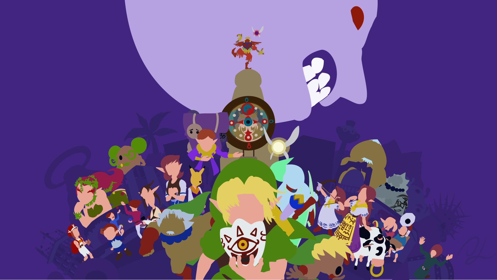 The Legend Of Zelda Majora S Mask By Disastermastr On Deviantart