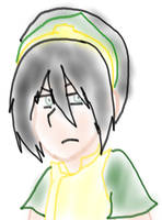 Toph out of Boredom by Abi-Chan14