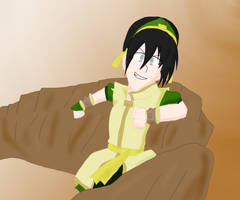 Toph's New Outfit by Abi-Chan14