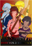 RWBY Rock AU Band Poster