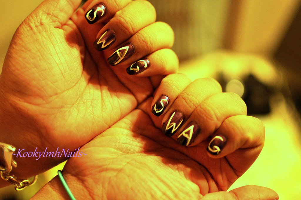 Swag nails by kookylmhnails