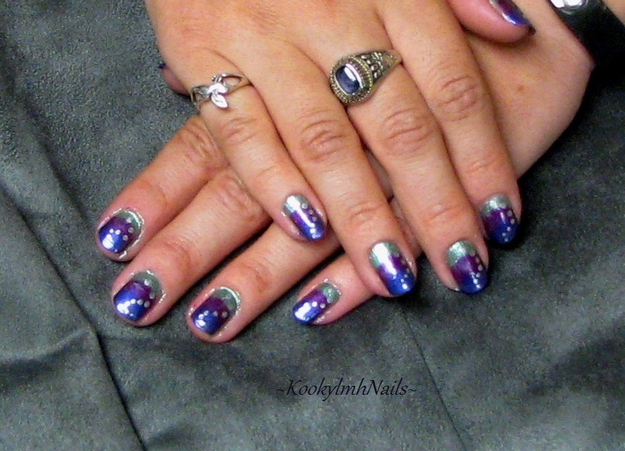 Tri-Color Nail Design by KookylmhNails on DeviantArt