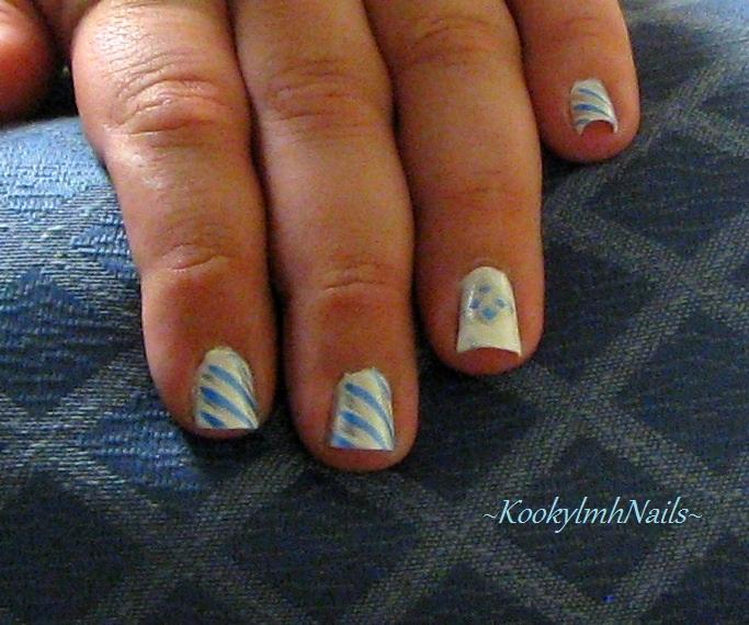 Simple Line Nail Art : Simple line nails by kookylmhnails on deviantart