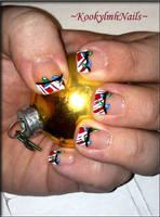Holiday Lights Nails by KookylmhNails