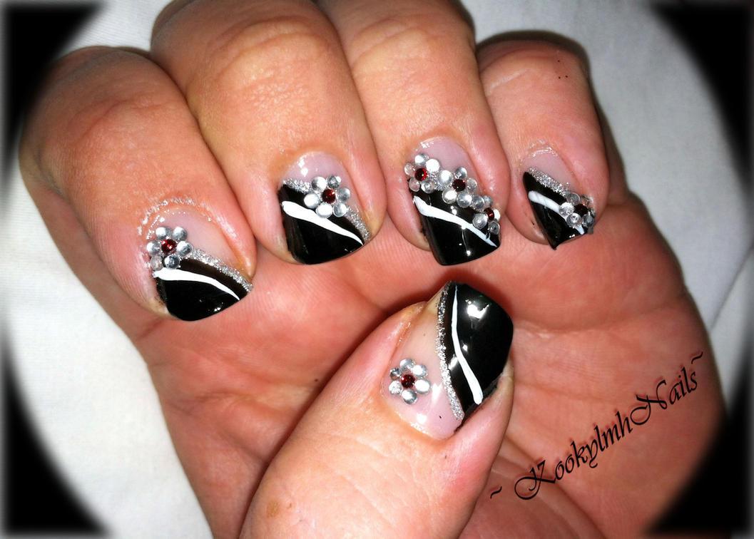 Graduation nails by kookylmhnails on deviantart graduation nails by kookylmhnails prinsesfo Images