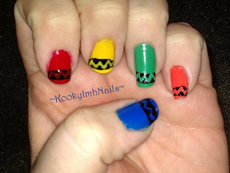 Crayon Nails