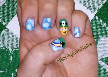 St. Paddy's Nails - 2015 by KookylmhNails