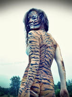 The Tigress by KatharinaArt