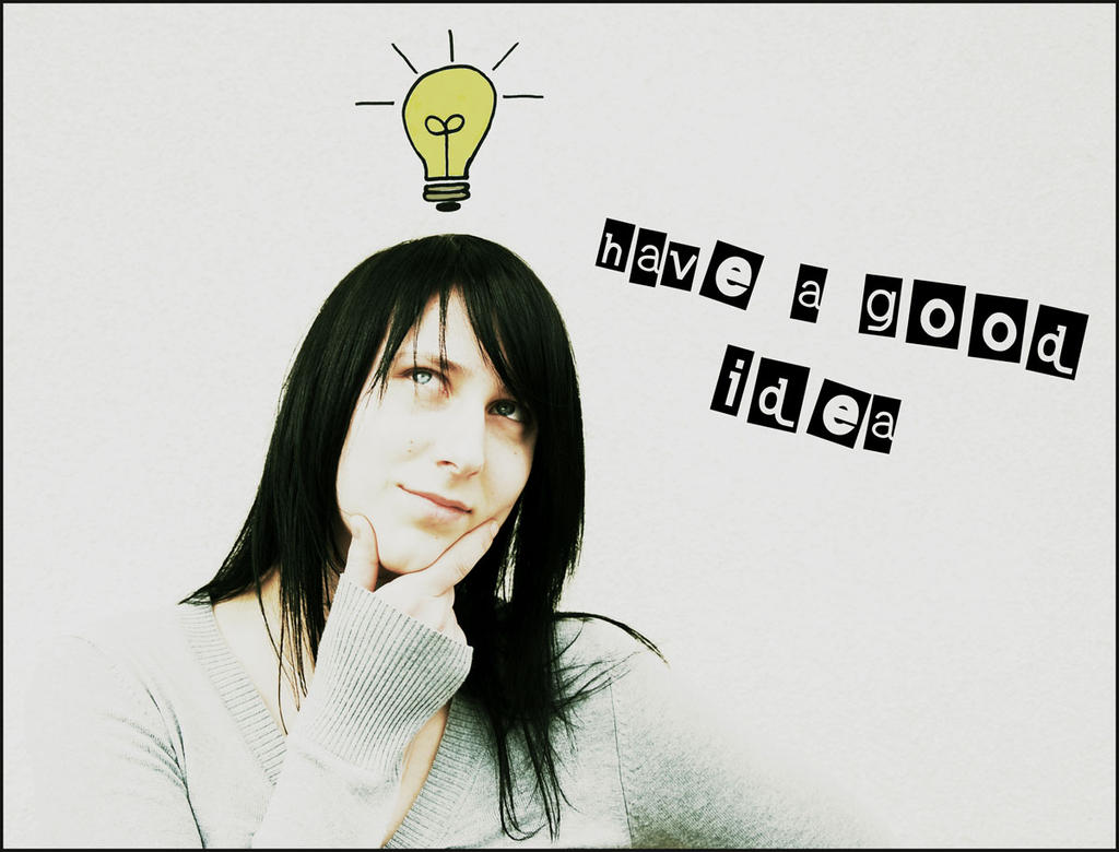 Have A Good Idea By Black Sheep88 On Deviantart