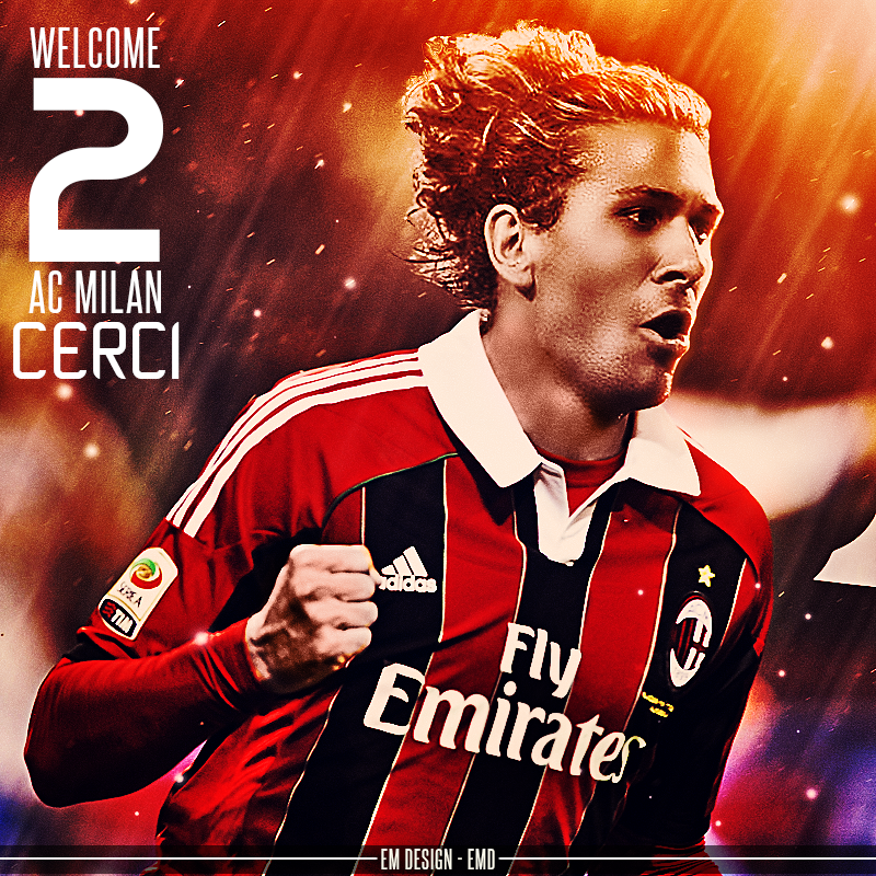 Welcome 2 Ac Milan CERCI by EmDesignEmd