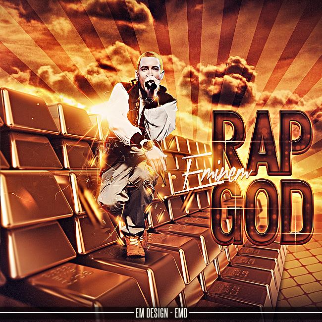 RAP GOD (Eminem) by EmDesignEmd