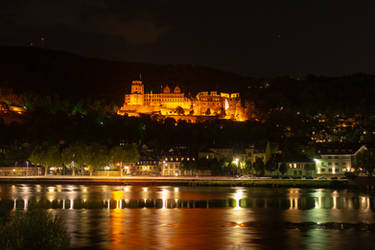 Heidelberg Castle - cropped for UHD screens by DansPhotos