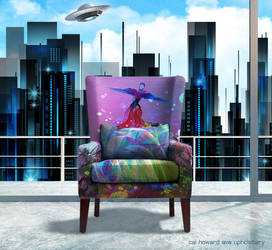 Sci-Fi Sofa by AVAdesign