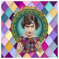 Vintage Lady Gloria Swanson by AVAdesign
