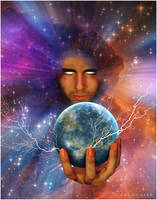 I am a Being of Heaven and Earth by AVAdesign