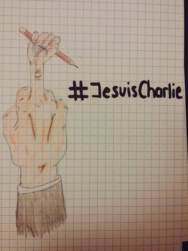 Je suis Charlie by Mariestel
