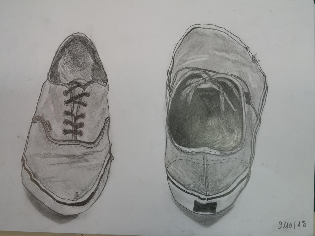 Shoes Study by Mariestel