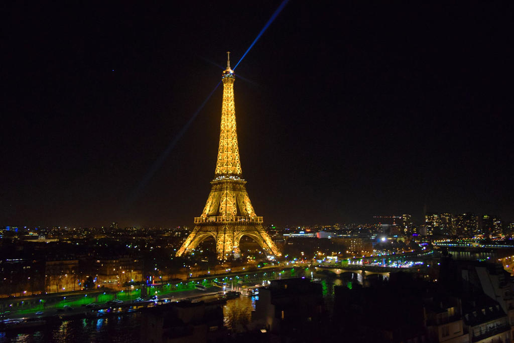 The Best view of Paris by Mariestel