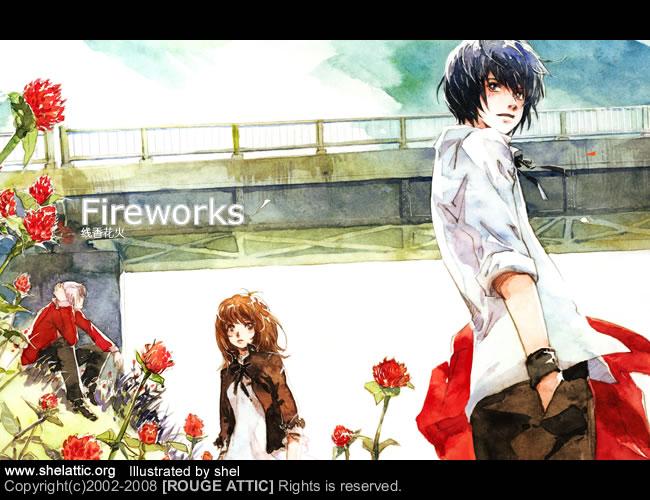 Fireworks 02 by shel-yang