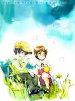 Before the sakura blooming 3 by shel-yang