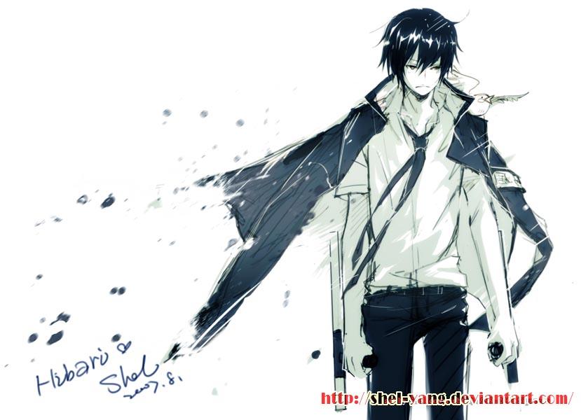 reborn Kyoya_Hibari_by_shel_yang