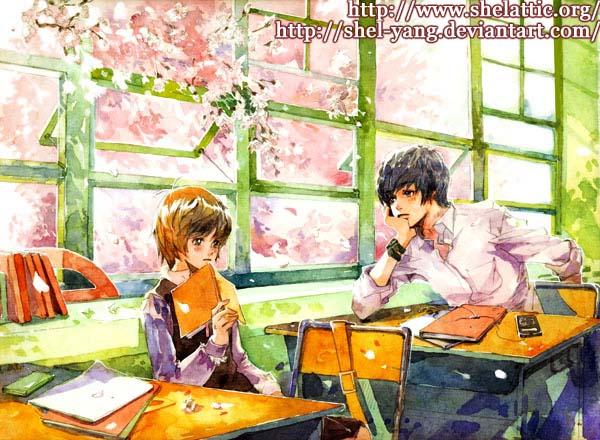 Before the sakura  blooming by shel-yang