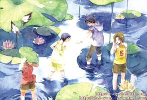 children in paradise III by shel-yang