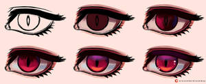 Digital Painting Tutorial - Eye 3 by Alexander-Black-Day