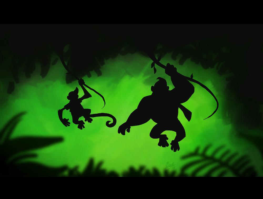 Jungle Hijinks by rollingrabbit