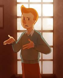 Tintin by rollingrabbit