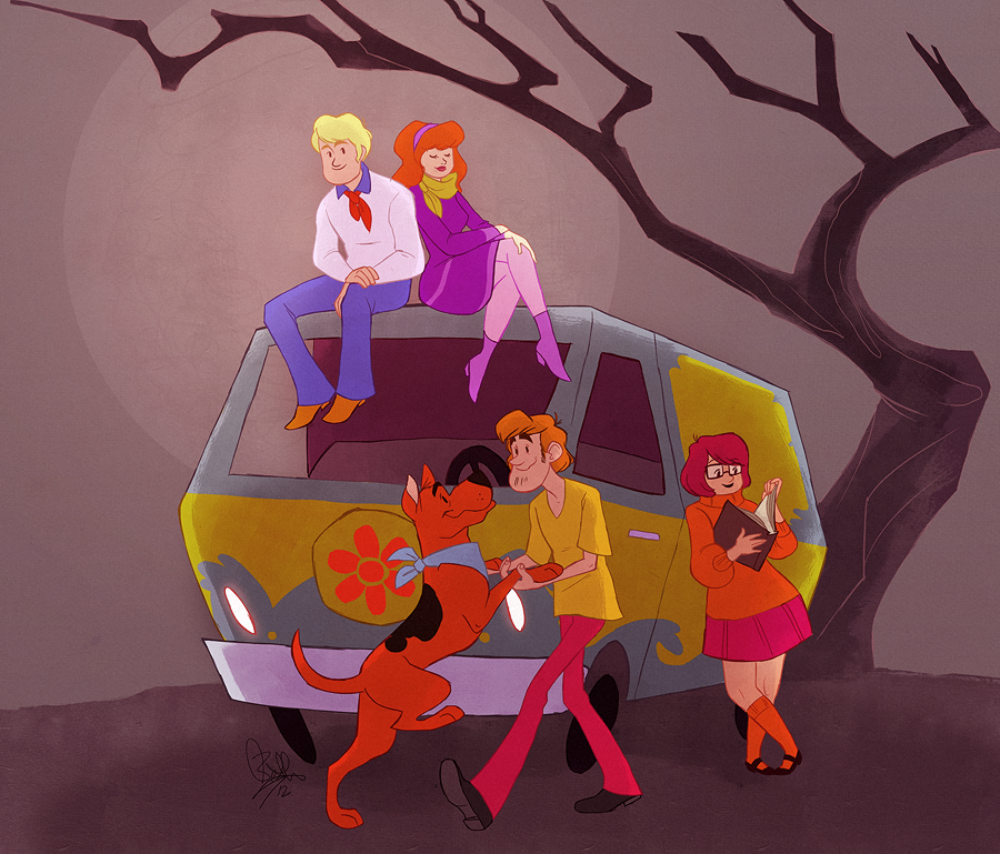 Those Meddling Kids by rollingrabbit