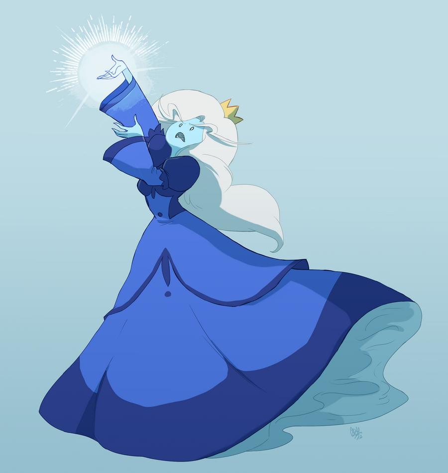 Ice Queen by rollingrabbit