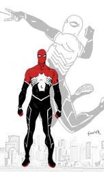 PR Spider Man Redesign by cadi11ac