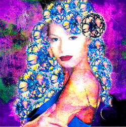 LadyCarnationPrint by BlameRebekkah