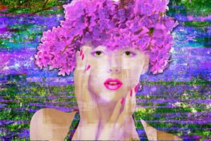 LilacLadyPrint by BlameRebekkah
