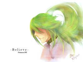 Pokemon BW : Believe by VanillaTea-er
