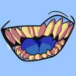 Blue Teethies