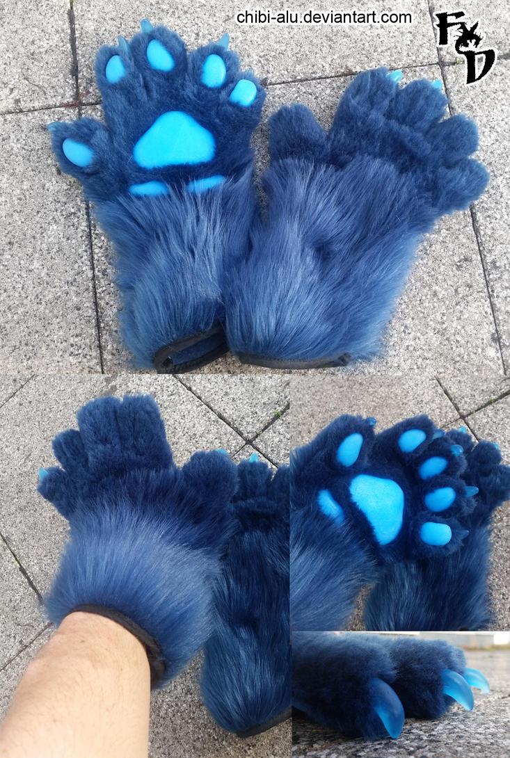 Paws for Shirrey Wolf by Chibi-Alu