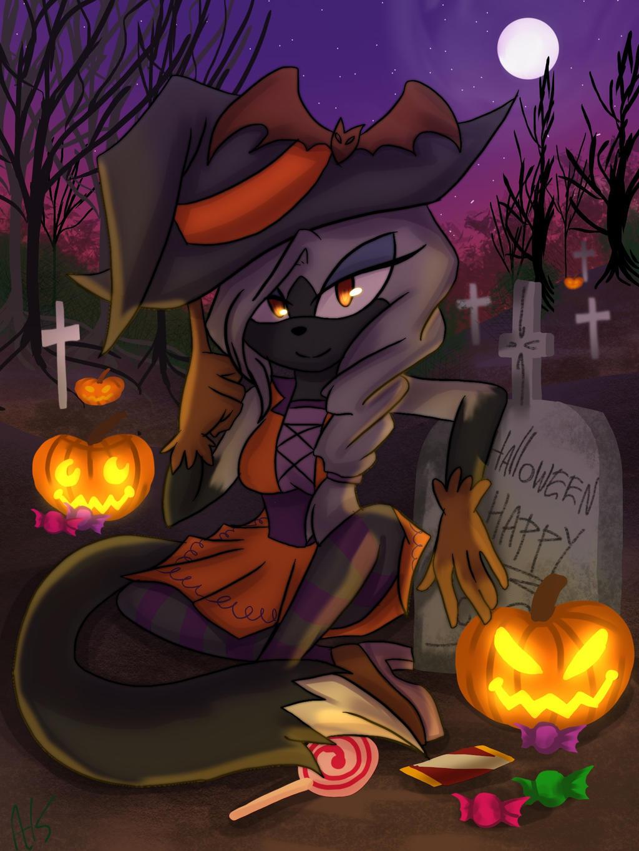 Halloween Ych by AK-47x