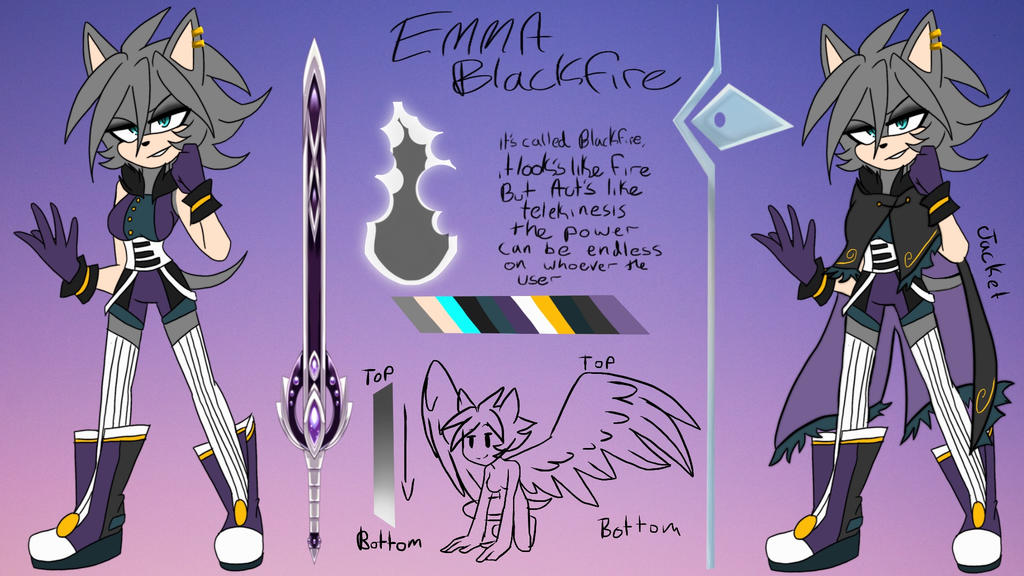 Emma blackfire ref by AK-47x
