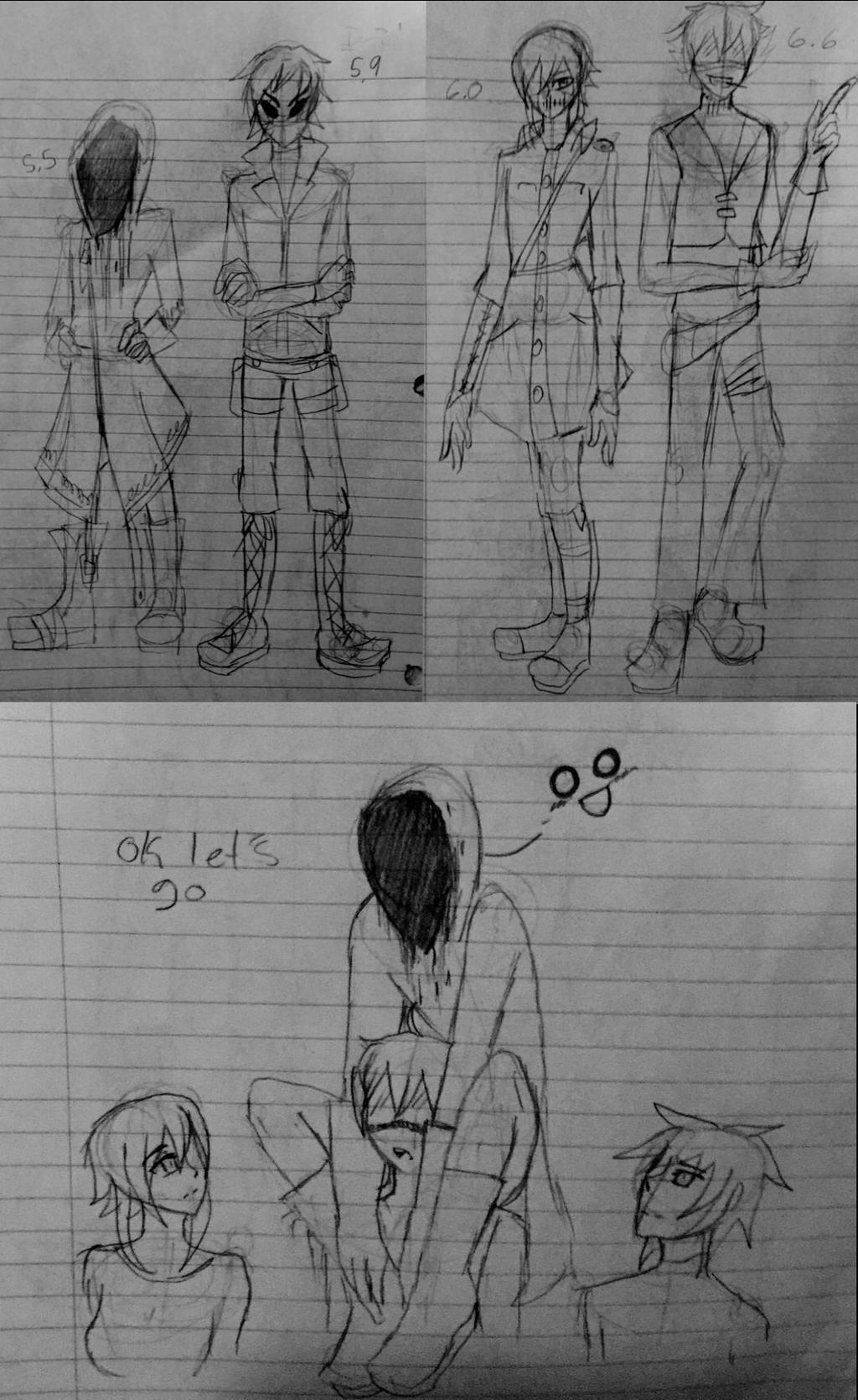 Doodles by AK-47x