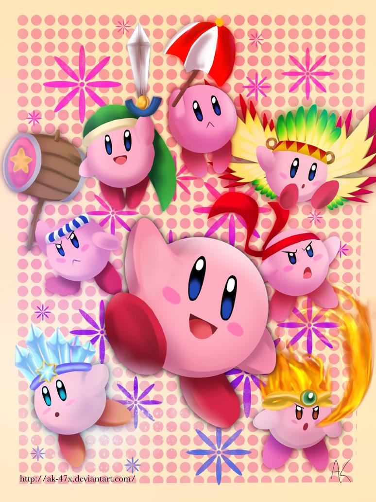 Kirby Poster by AK-47x