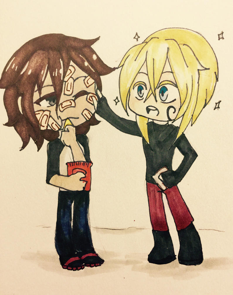 That moment When Ray finds out about band-Aids by AK-47x