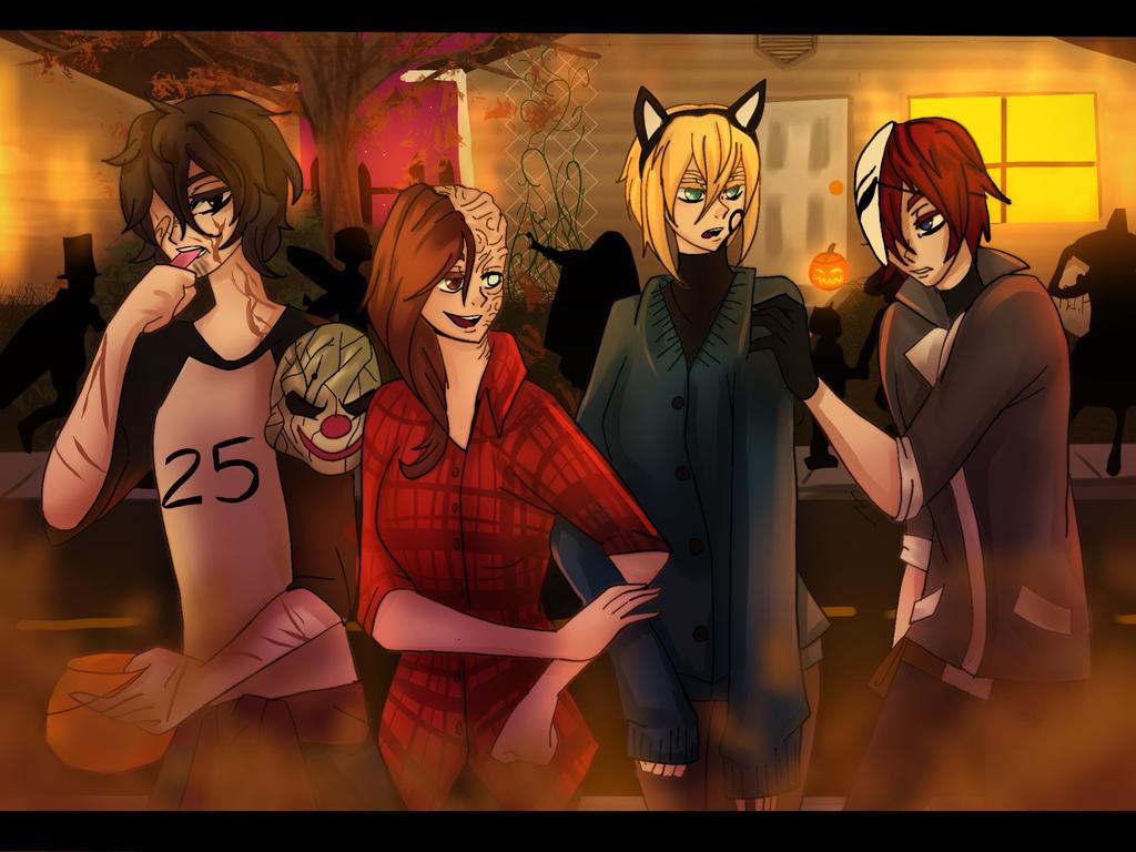 Halloween with RHAL squad by AK-47x