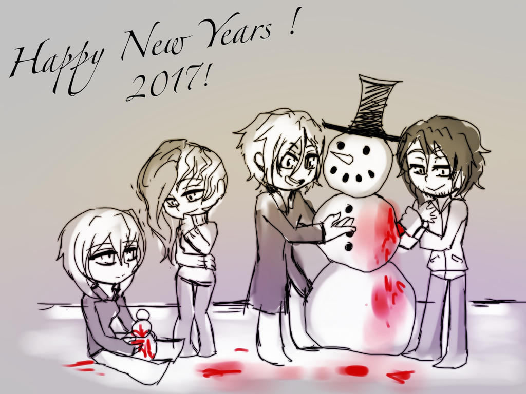 Happy New Years! by AK-47x