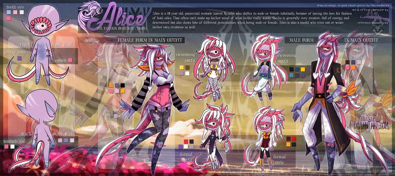 Alice - xynthii ref by AK-47x