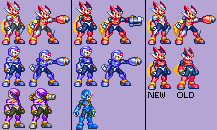 Download games megaman zx sprites