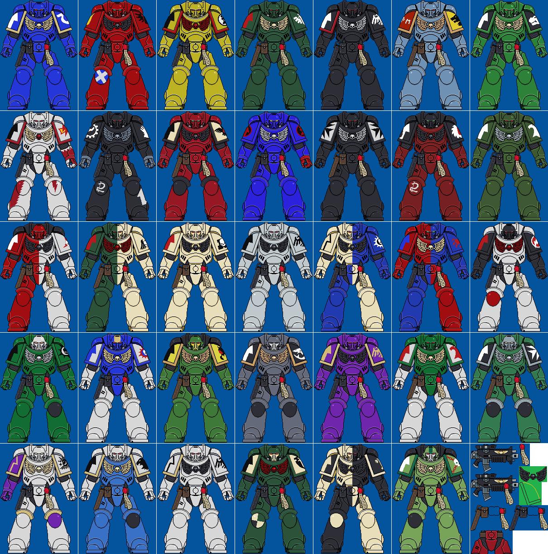 Primaris Space Marines Pixel V 3 By Davephillips On Deviantart